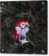 All American Bear Acrylic Print