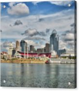 All American City 2 Acrylic Print