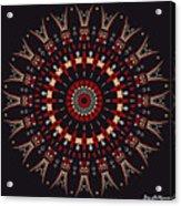 All Arrows Hit The Bullseye Acrylic Print