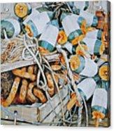 All Buoy'd Up Acrylic Print by P Anthony Visco
