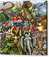 All Creatures Great Small Acrylic Print