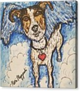 All Dogs Go To Heaven Acrylic Print