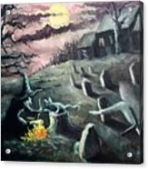 All Hallow's Eve Acrylic Print