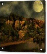 All Hallows Moon Acrylic Print