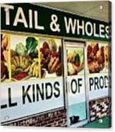 All Kinds Of Produce Acrylic Print