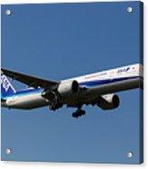 All Nippon Airways Boeing 777 Acrylic Print