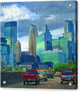 All Roads Lead To Minneapolis Acrylic Print