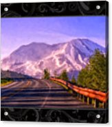 All Roads Lead To The Mountain Acrylic Print