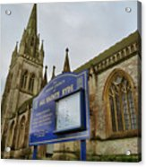 All Saints Acrylic Print