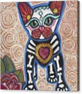 All Souls Day Aztec Acrylic Print
