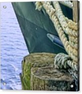 All Tied Up In Port Jefferson No 1 Acrylic Print