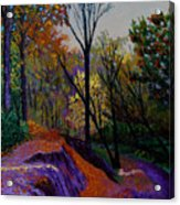Alla Prima In October Acrylic Print