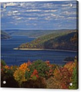 Allegheny National Forest Lake  Acrylic Print