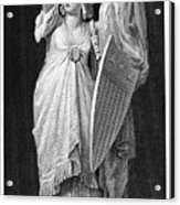 Allegory: Columbia, 1870 Acrylic Print