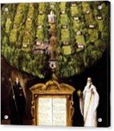 Allegory Of Camaldolese Order 1600 Acrylic Print