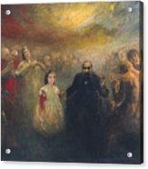 Allegory Of Doctor Robert Acrylic Print