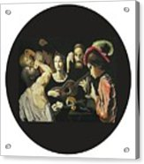 Allegory Of The 5 Senses Acrylic Print