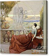 Allegory Of Tuberculosis, 1912 Acrylic Print