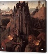 Allegory With A Virgin 1479 80 Hans Memling Acrylic Print
