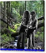 Allen And Steve On Mt. Spokane Acrylic Print