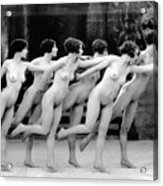 Allen Chorus Line, 1920 - To License For Professional Use Visit Granger.com Acrylic Print