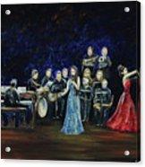 Allen Myers' Jazz Orchestra Acrylic Print