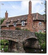 Allerford - England Acrylic Print
