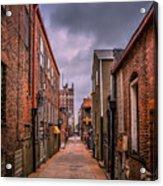 Alley A At Dawn Acrylic Print