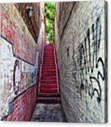 Alley At Chapelhill Acrylic Print