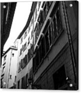 Alley In Florence Acrylic Print