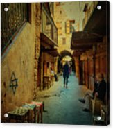 Alley Of Old Sidon Acrylic Print