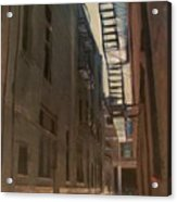 Alley Series 5 Acrylic Print