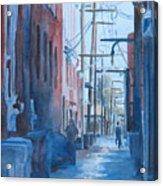 Alley Shortcut Acrylic Print