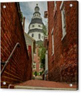 Alley View Acrylic Print