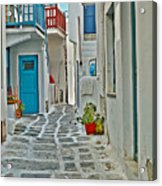 Alley Way Acrylic Print