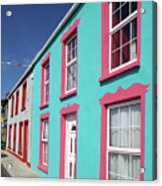 Allihies Streetscape West Cork Acrylic Print
