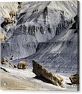Allstrom Point Rocks 2436 Acrylic Print