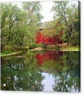 Allsy Sprng Mill Acrylic Print