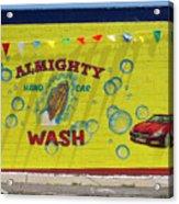 Almighty Car Wash Acrylic Print