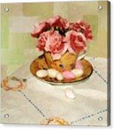 Almond Blossom Tea Acrylic Print