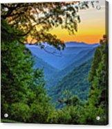 Almost Heaven - West Virginia 3 Acrylic Print