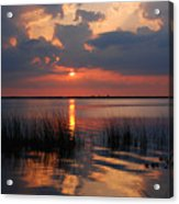 Almost Sunset In Florida Acrylic Print