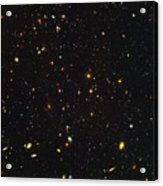 Almost Ten Thousand Galaxies As Seen By Hubble Acrylic Print
