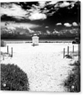 Almost There In South Beach Acrylic Print