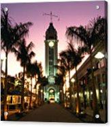 Aloha Tower Marketplace Acrylic Print