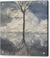 Alone Tree Acrylic Print