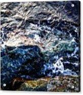 Alone With Sea Acrylic Print