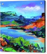 Along Colorado River - Utah Acrylic Print