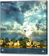 Along The North Shore - Ma Acrylic Print