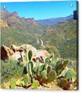 Along The Apache Trail Acrylic Print